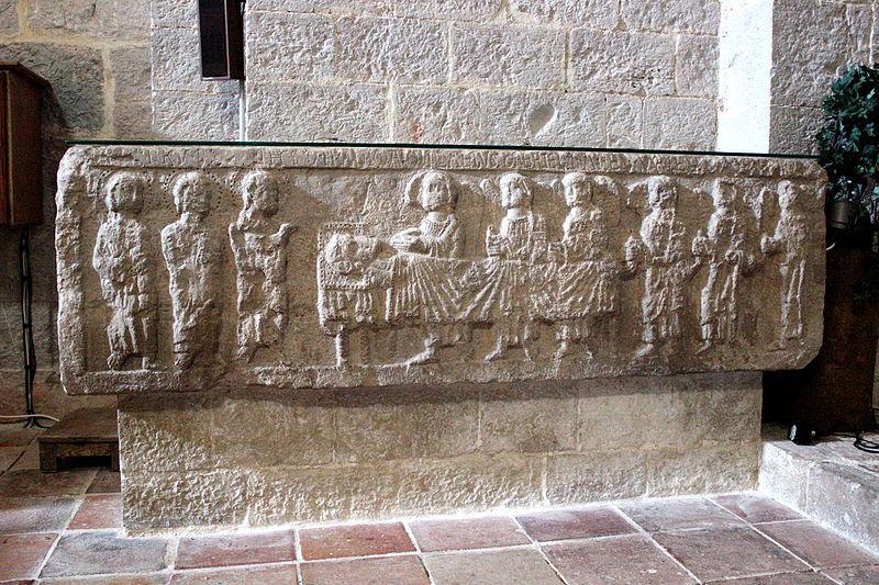 La Celle sarcophage