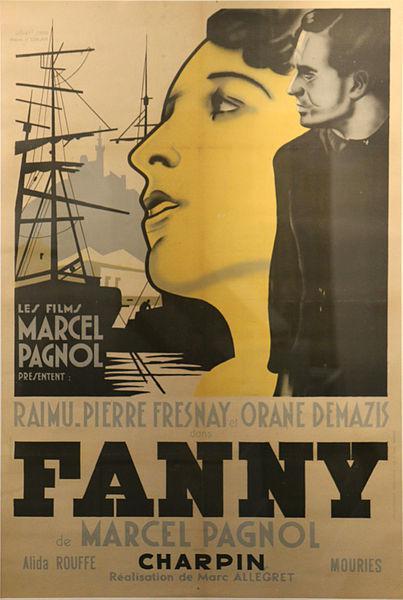 Affiche de Fanny - Musée d'histoire de Marseille