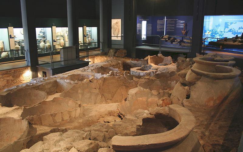 Musée des docks romains vue générale