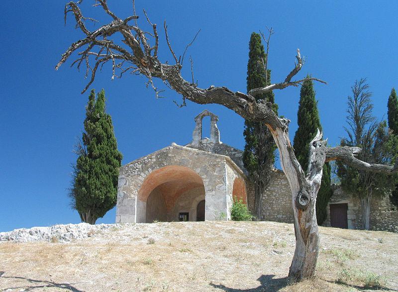 Chapel St. Sixte at Eygalieres, Provence, France