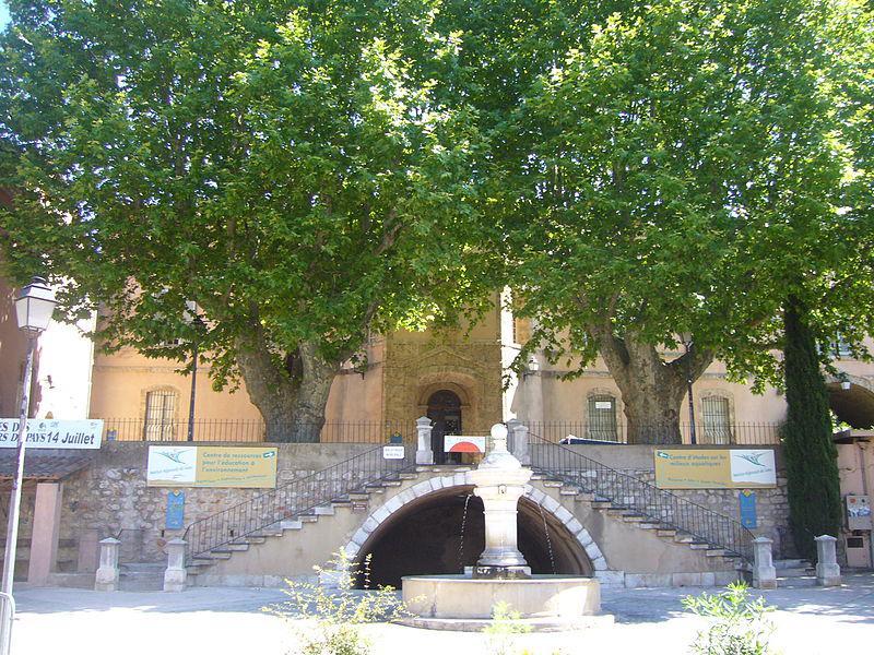 Maison Régionale de L'eau, Barjols
