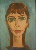 """Simon Segal, """"Portrait de Raymonde"""""""
