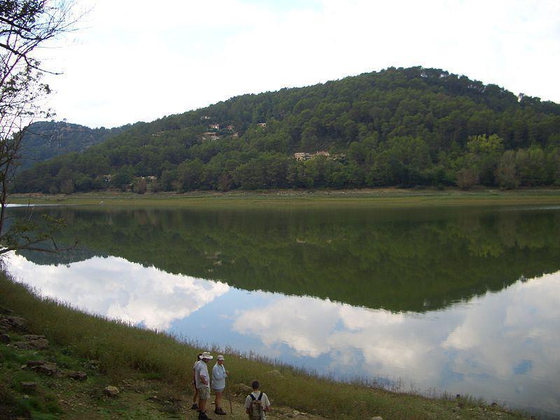 Le lac de Carcès