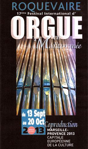 Festival International d'Orgue de Roquevaire