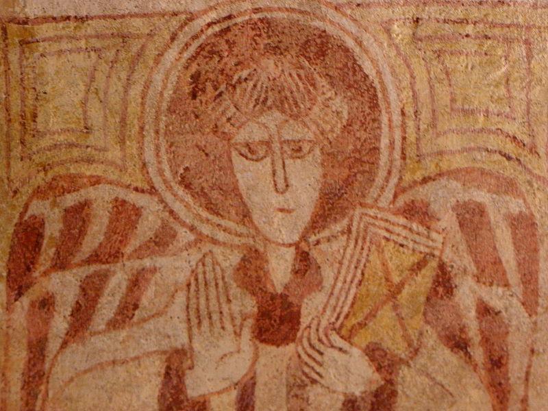 Langast (22) Église Saint-Gal Fresques