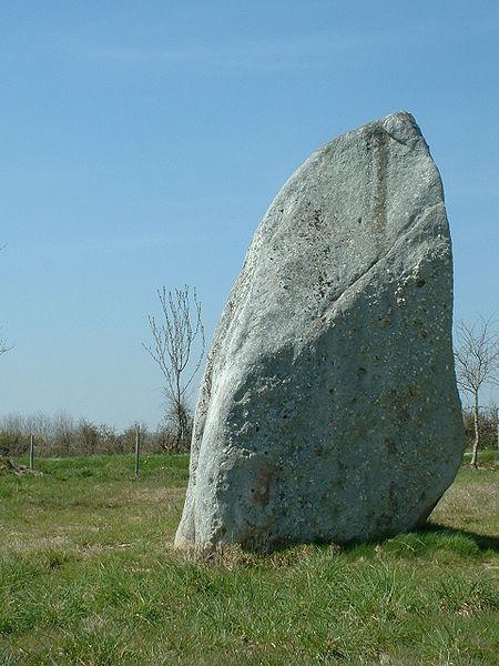Menhir de la Pierre Lematz