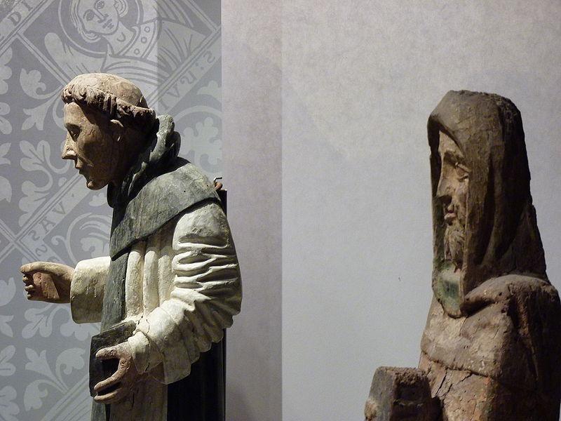 Statues en bois polychrome, Musée d'histoire et d'archéologie de Vannes