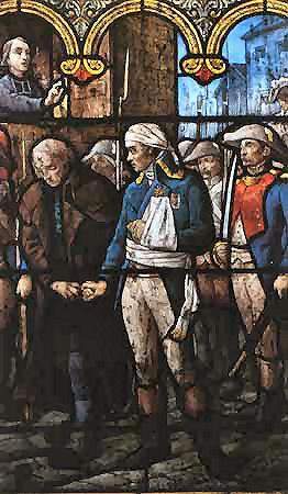 Vitrail de l'église Saint-Pavin