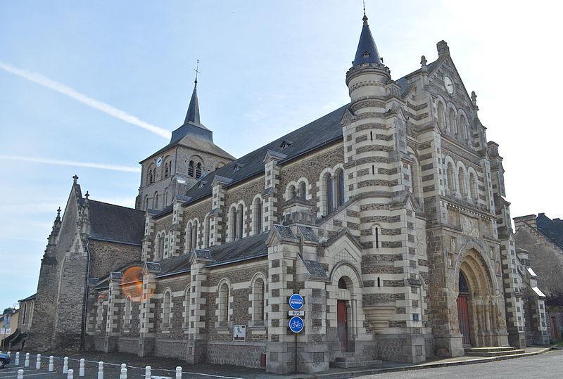 Chemillé - Église Saint Pierre