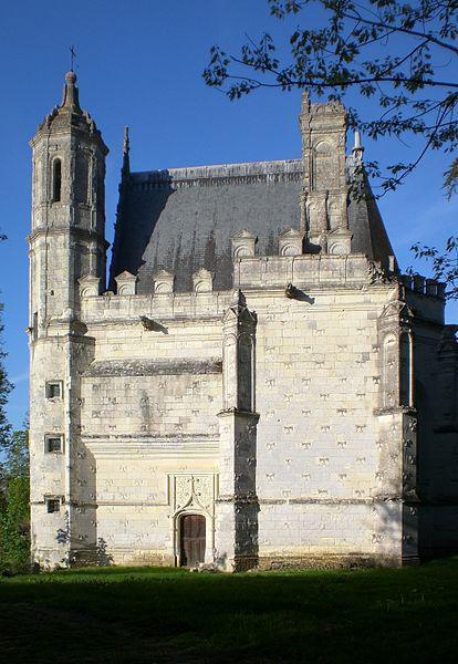 Chapelle du Christ-Habillé, château de la Bourgonnière