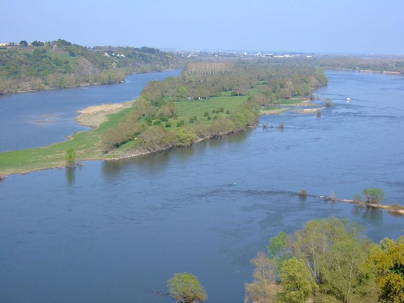 La Loire à Champtoceaux