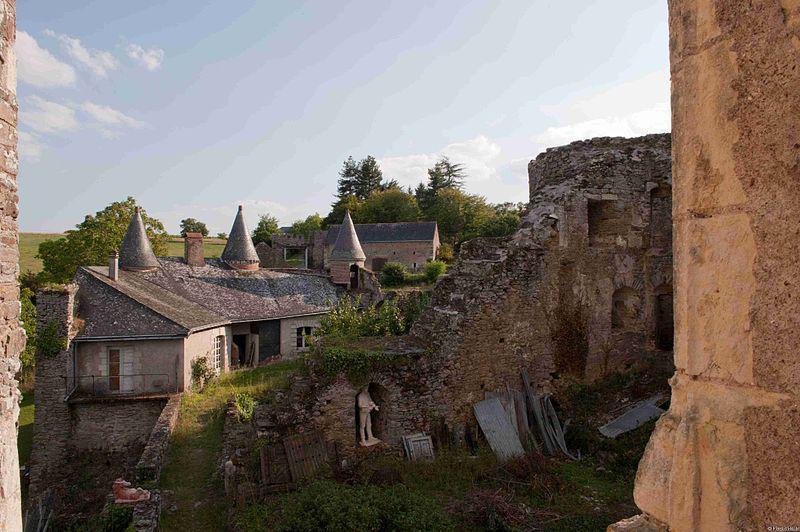 Château de la Haute Guerche, Saint-Aubin-sur-Luigné