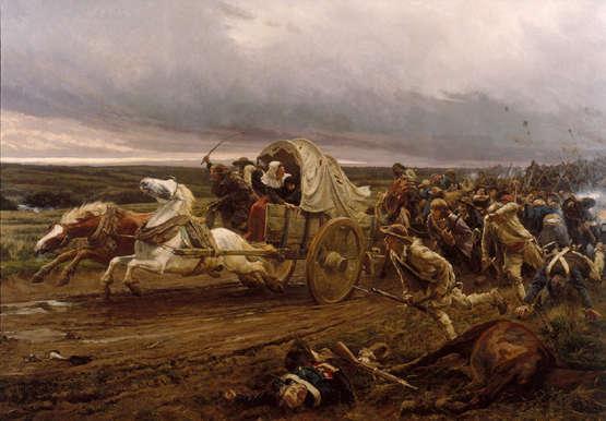 Déroute de Cholet, Jules Girardet, Musée d'art et d'histoire de Cholet