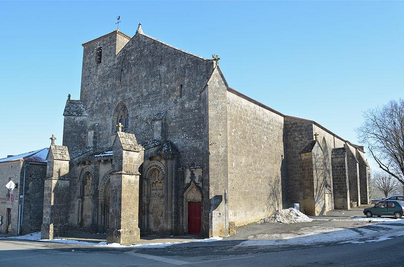 Foussais-Payre - Eglise Saint-Hilaire