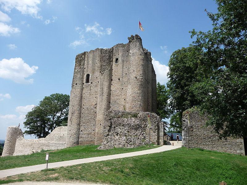 Donjon du Château de Pouzauge