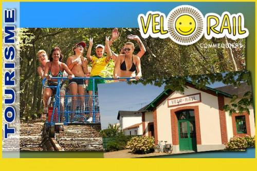 Vélo-rail de Commequiers