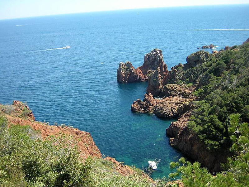 Calanque Cap du Dramont