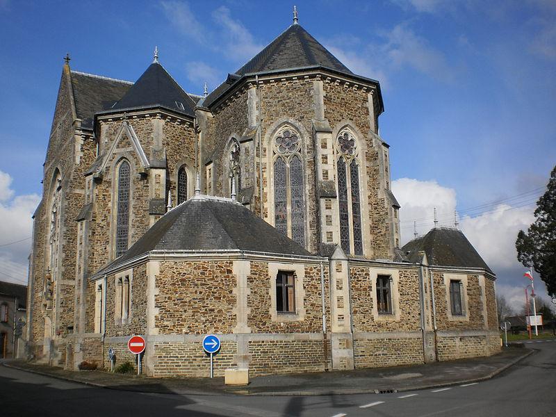 Le Pin (Loire-Atlantique) - église