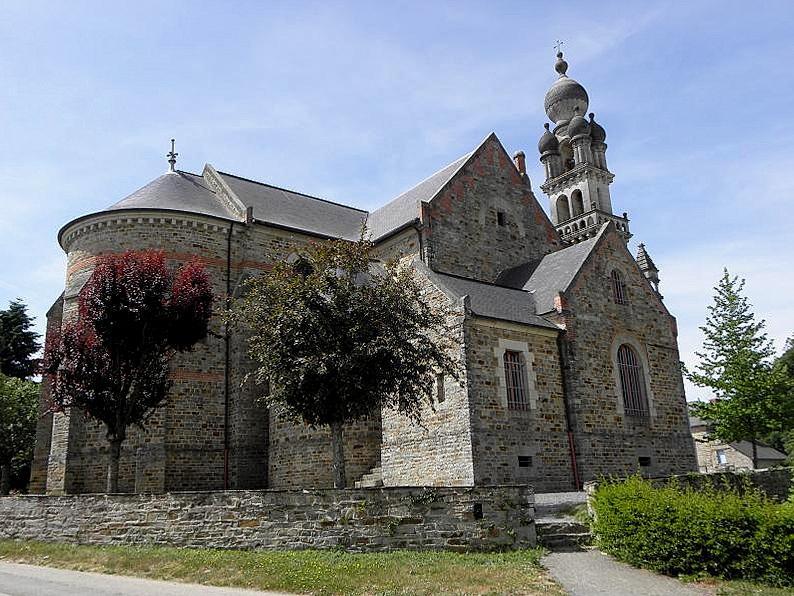 Image : Église Saint Senoux