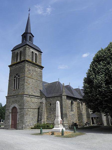 Église Saint-Martin-de-Tours d'Amanlis