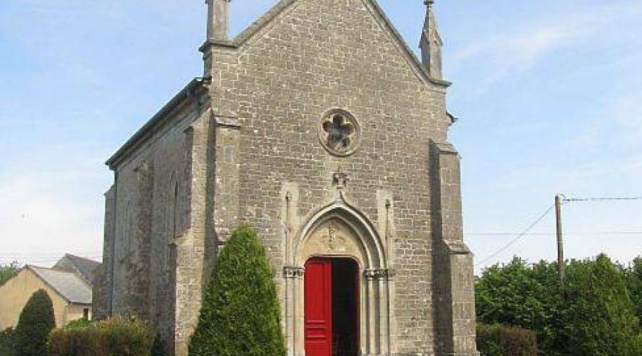 Image : Chapelle Saint Urbain