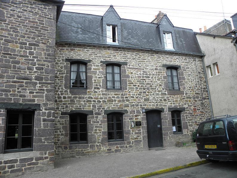 Image : Maison natale de Saint Louis Marie Grignion