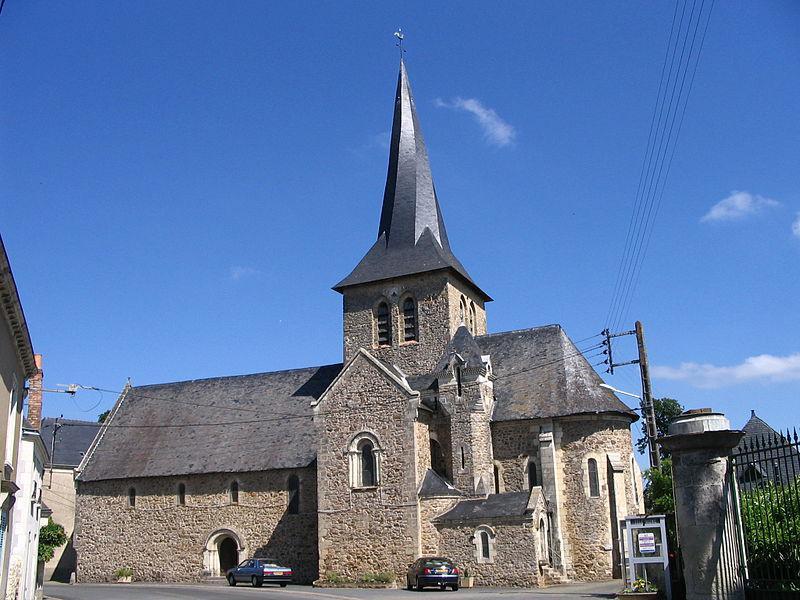 L'église de Chemiré-sur-Sarthe