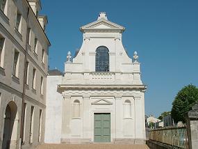 La chapelle de l'ancien couvent des Ursulines