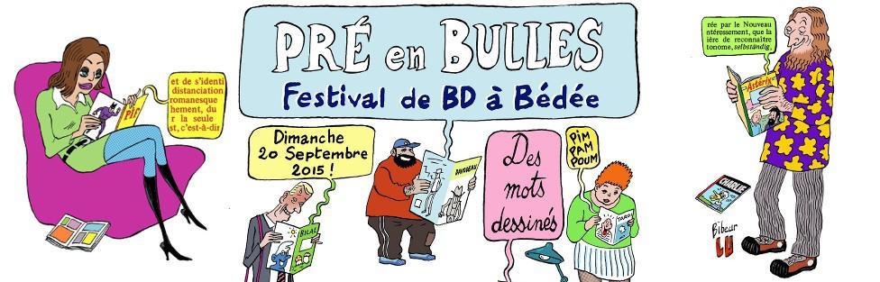 """Festival de la Bd """"Pré en Bulles"""""""