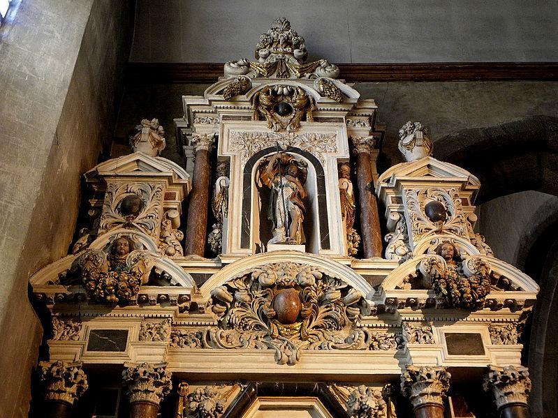 Autel et retable de la Vierge. Église Notre-Dame-des-Cordeliers