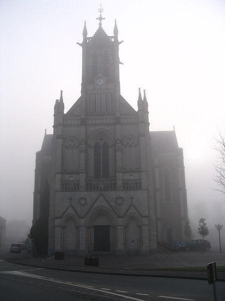 L'église de Changé