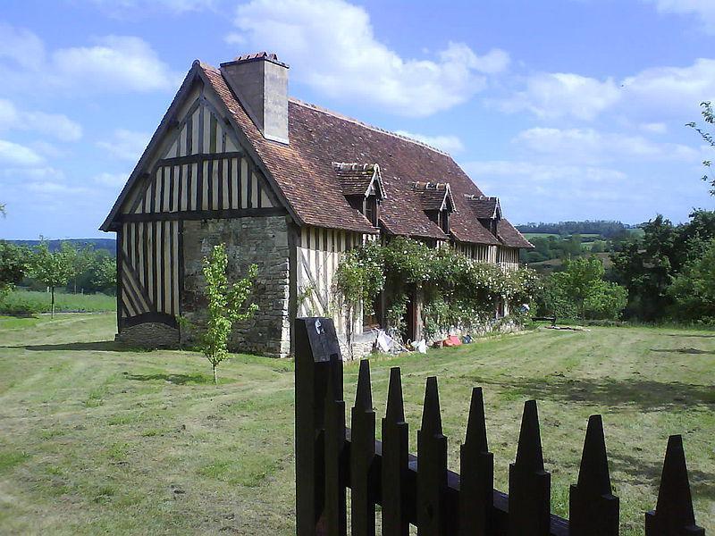 Manoir de Cauvigny, maison d'enfance de Charlotte Corday
