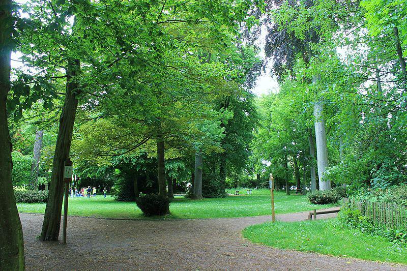 Caen parc Saint Paul