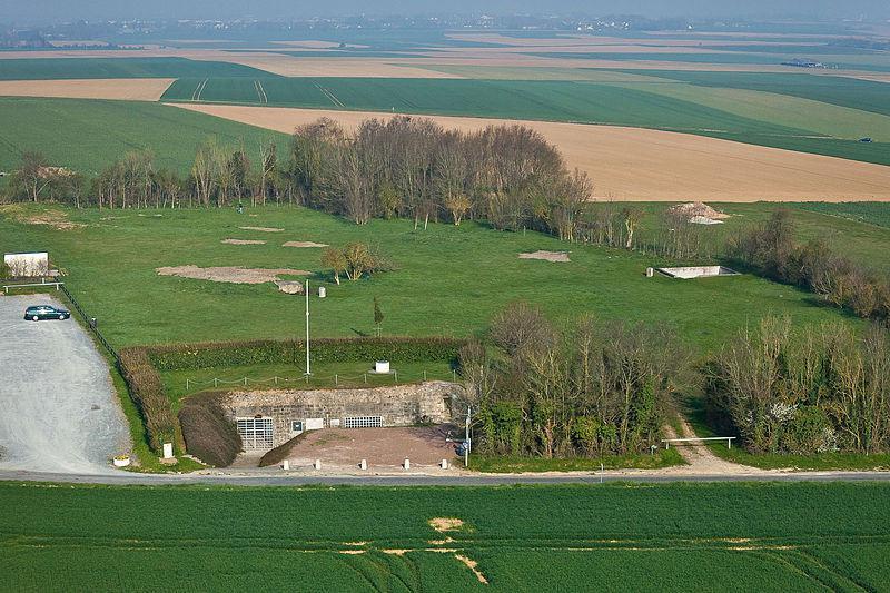 Vue aérienne du Site Hillman