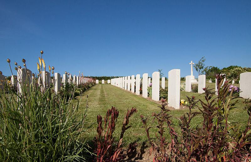 Cimetière militaire Britannique de Brouay