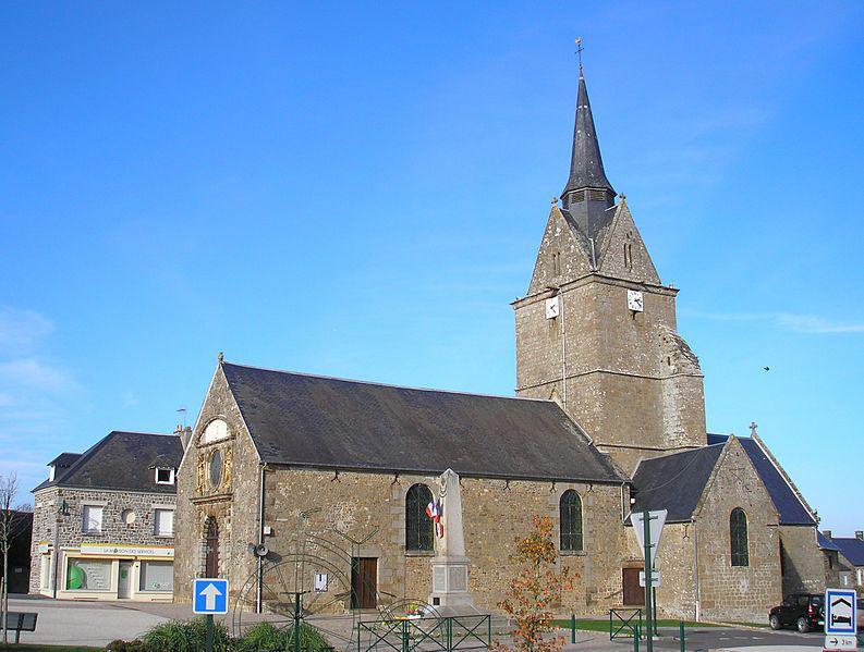 Rânes, l'église Notre-Dame-de-l'Assomption