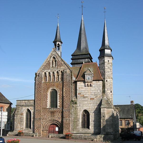 Image : Église Saint-Martin de Broglie