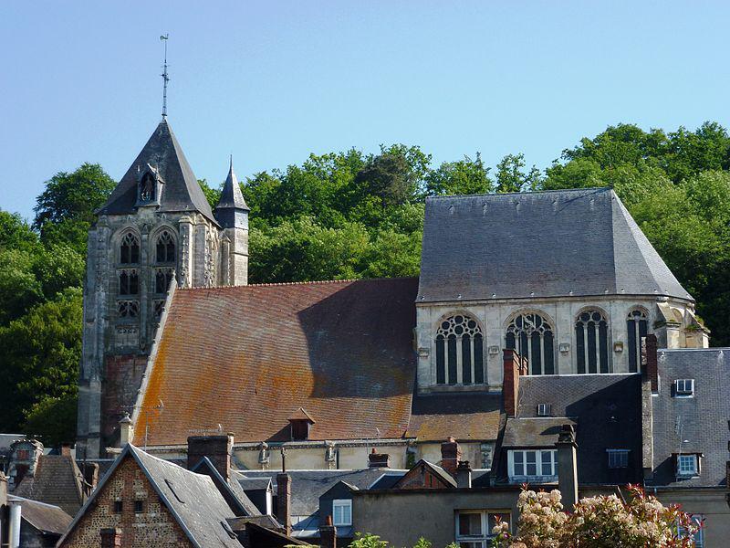 Beaumont-le-Roger, église Saint-Nicolas
