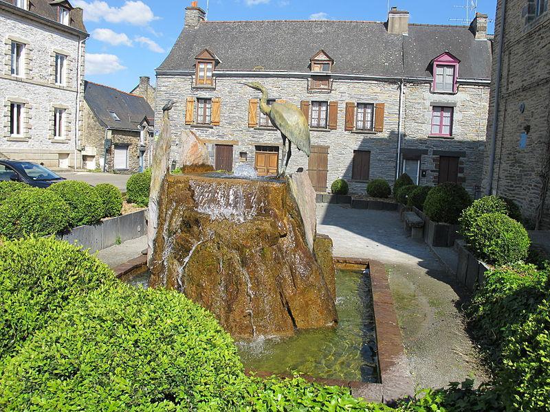 La Gacilly - la fontaine