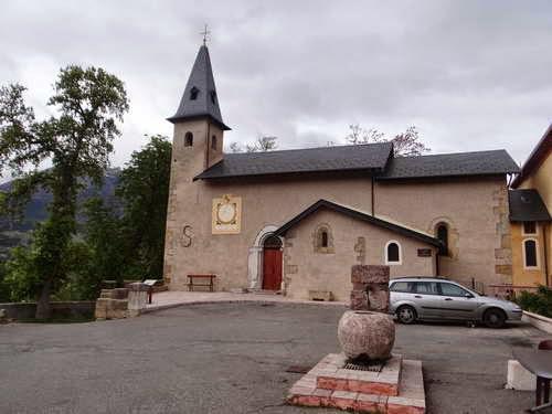 Baratier, église Saint-Chaffrey
