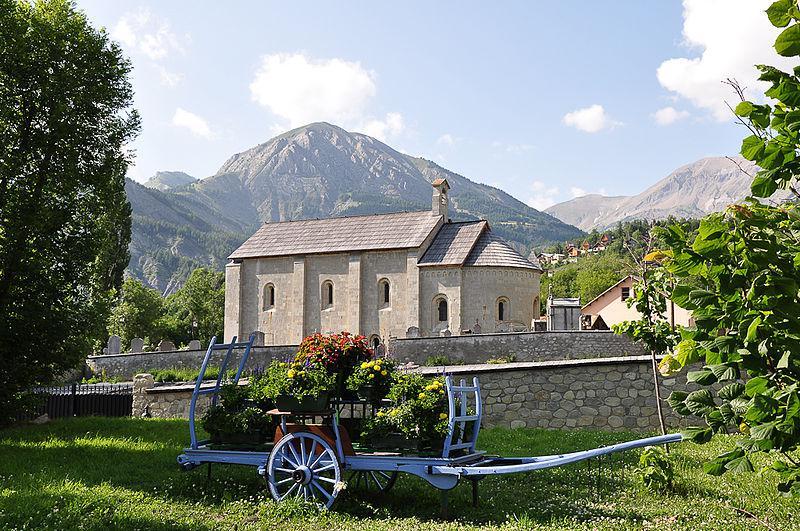 Église Notre-Dame de Valvert à Allos