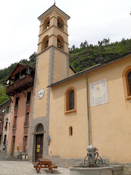 Château-Ville-Vieille - Eglise de Château-Queyras