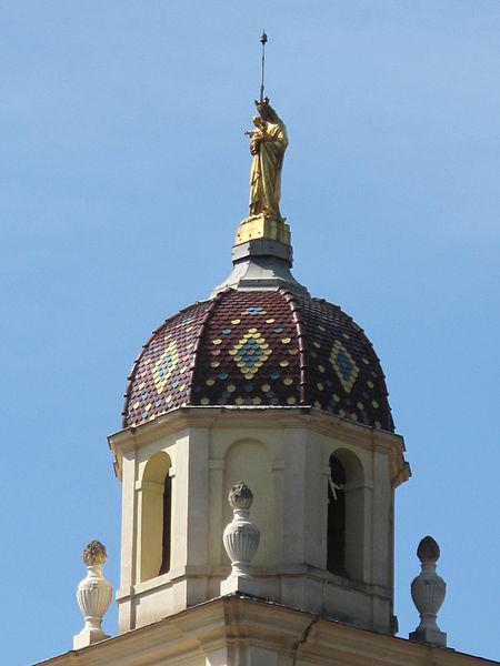 Clocher du monastère de Notre-Dame-de-Laghet