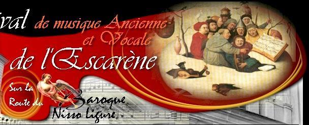 Festival de Musique Ancienne et Vocale de L'Escarène