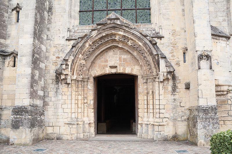 Carentan Église Notre Dame Portail