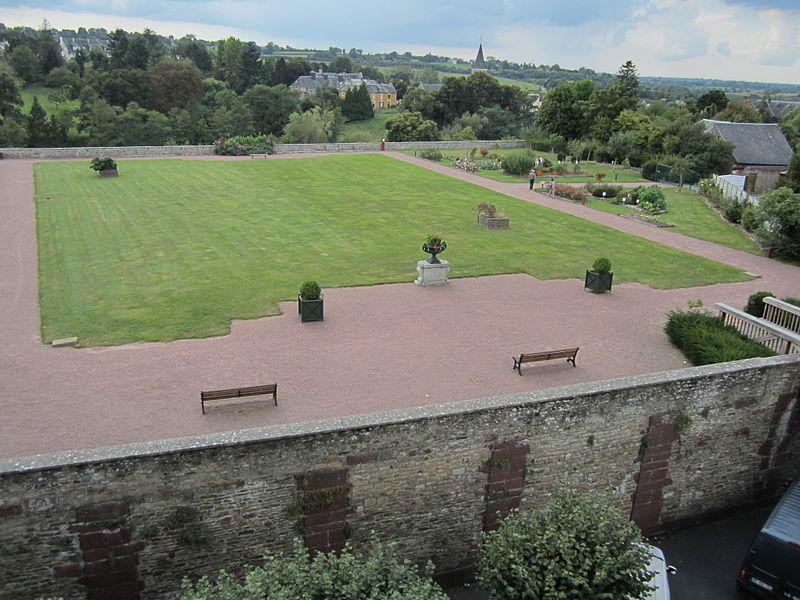 Château des Matignon - jardin