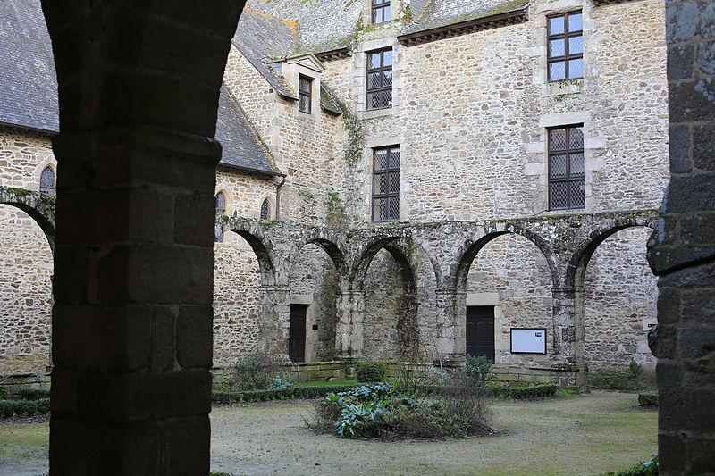 Abbaye Saint-Magloire - Cloître