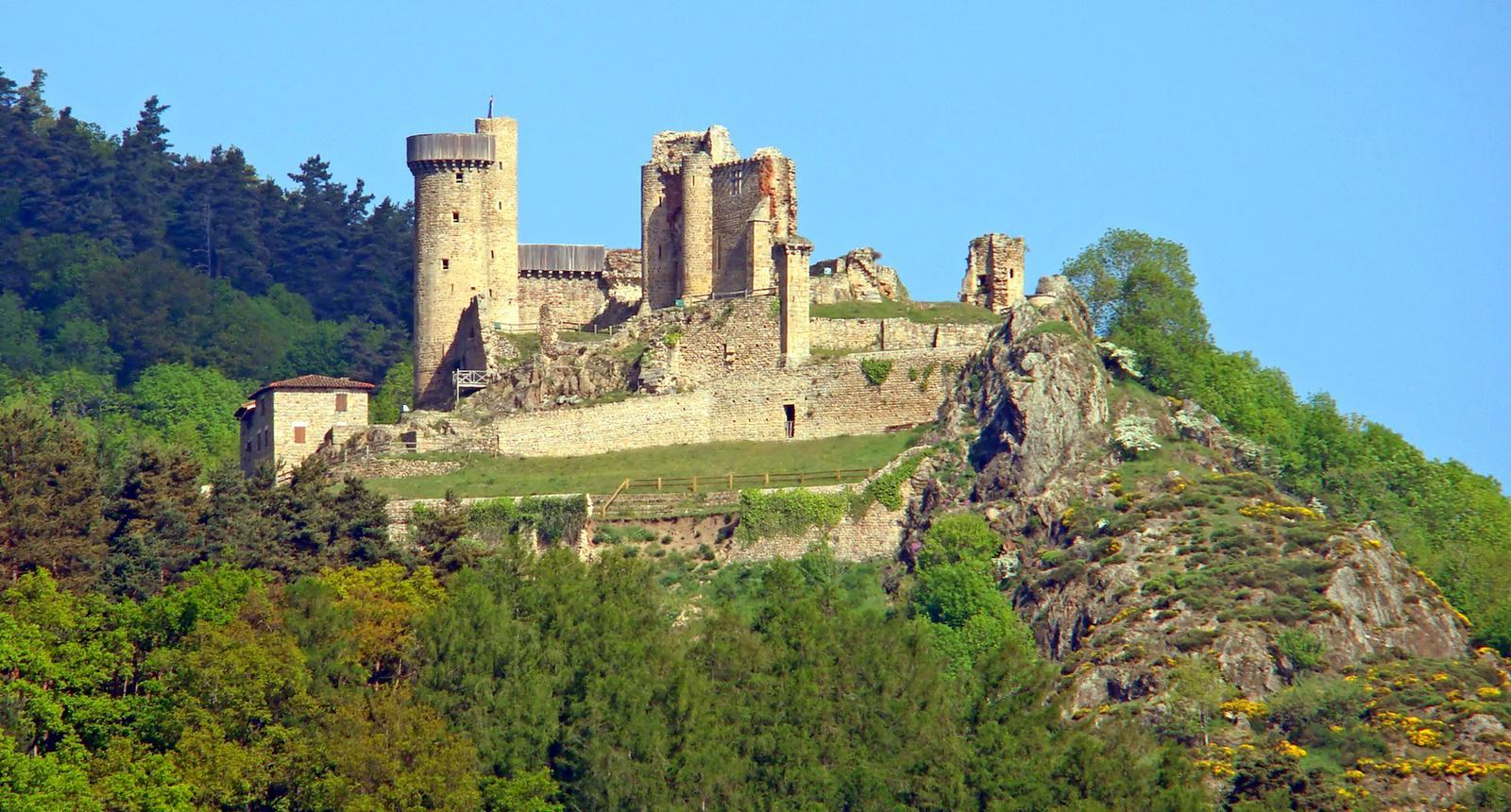 Château de Rochebaron, Bas-en-Basset