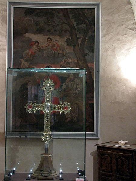 Croix reliquaire de Montmiral