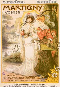 Affiche Martigny, Vosges